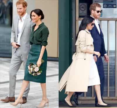 ヘンリー(ハリー)王子 メーガン妃